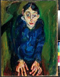 Chaïm Soutine  La pazza 1919 circa Olio su tela, cm 87 x 65,1 Firmato in basso a sinistra © Pinacothèque de Paris /Fabrice Gousset © Chaïm Soutine by SIAE 2013