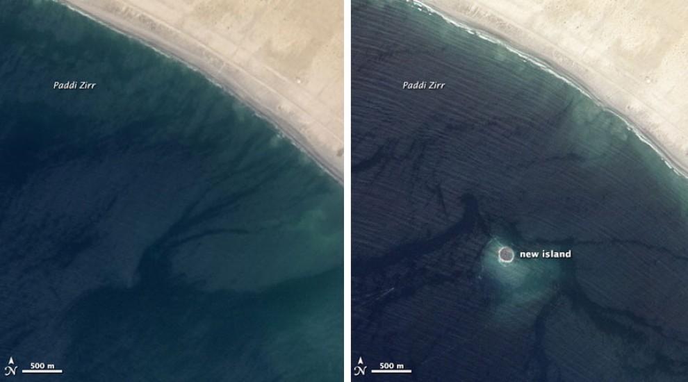 Pakistan, dopo il terremoto spunta l'isola