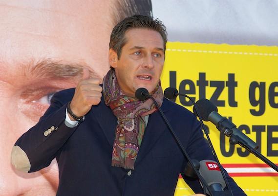 Austria, le farneticanti (ma non troppo) dichiarazioni di Strache